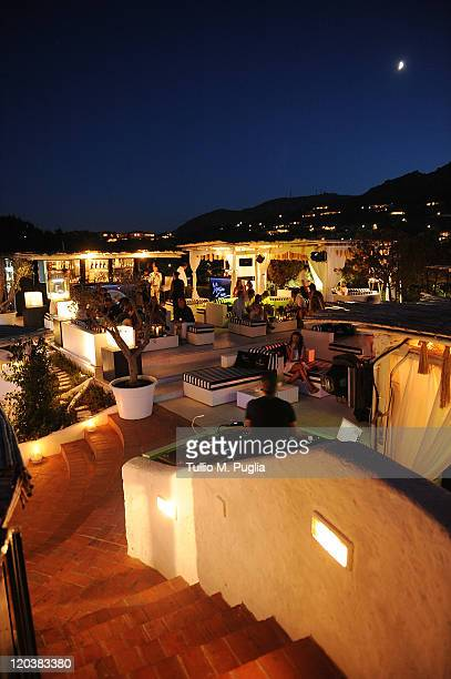 Atmosphere during the Lancia 'Ypsilon x You' opening party at Tennis Club on August 5 2011 in Porto Cervo Italy
