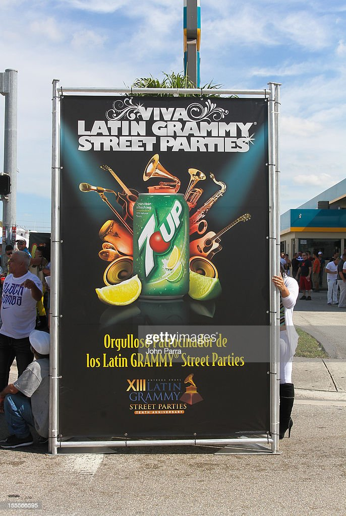 Atmosphere during the Latin Grammy Street Party 2012 on November 4, 2012 in Hialeah, Florida.