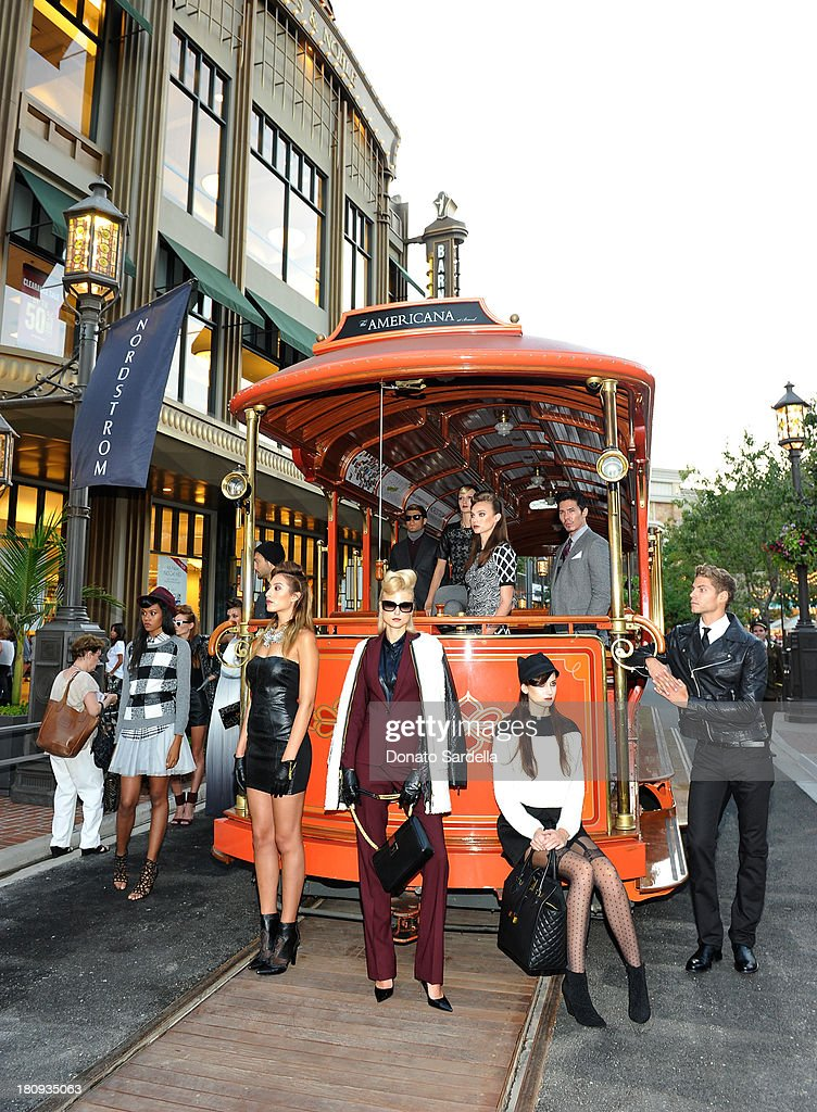 Atmosphere during the Nordstrom store opening gala at The Americana at Brand on September 17, 2013 in Glendale, California.