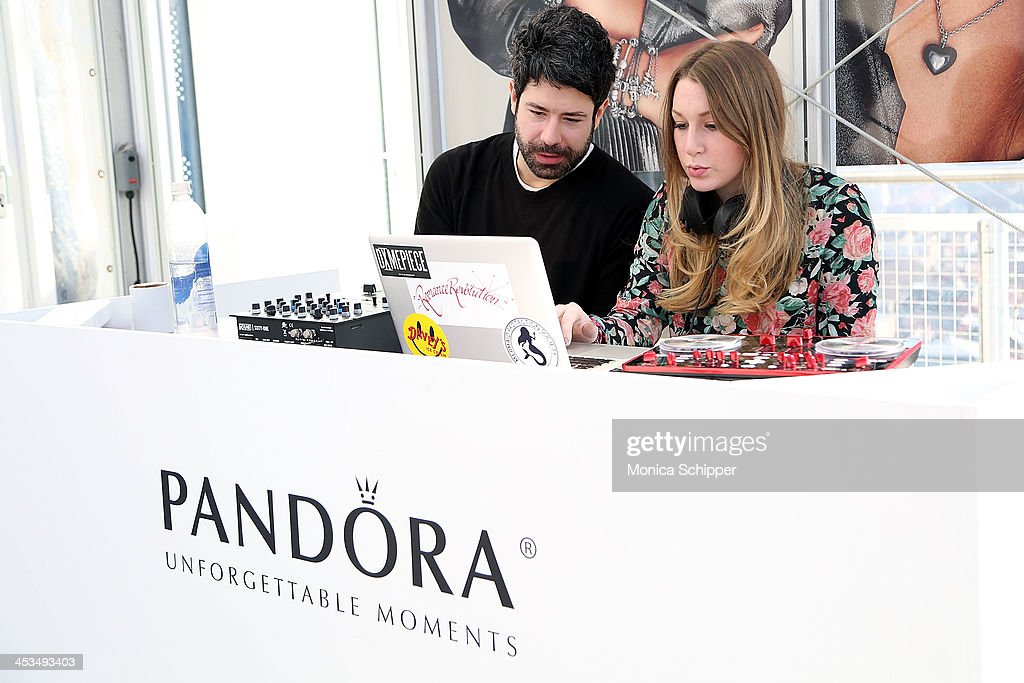 Atmosphere during the Pandora Spring Collection 2014 Media Preview at Mondrian New York on December 4, 2013 in New York City.