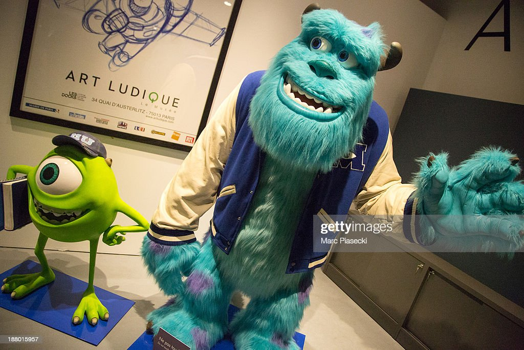Atmosphere during the 'Pixar, 25 years of animation' exhibition on November 14, 2013 in Paris, France.