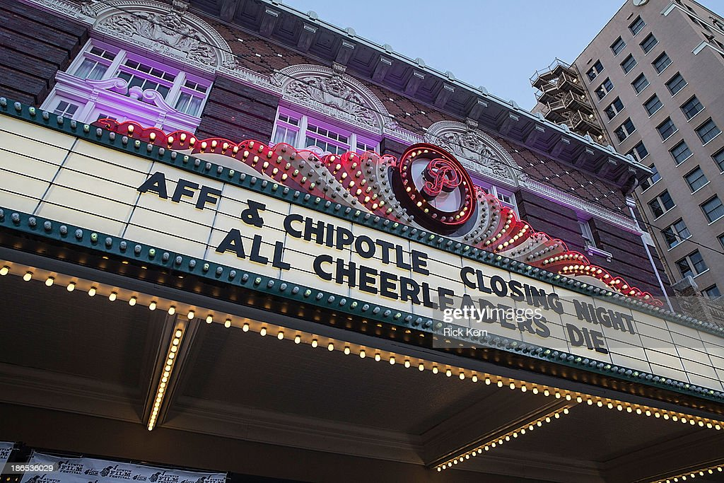 Atmosphere during the premiere of 'All Cheerleaders Die' during the Austin Film Festival at The Paramount Theatre on October 31 2013 in Austin Texas