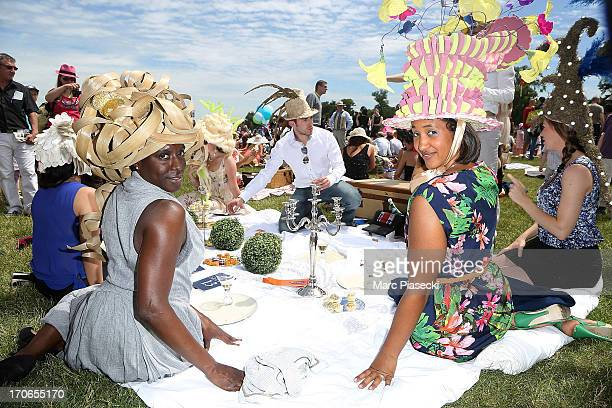 Atmosphere during the 'Prix de Diane Longines' at Hippodrome de Chantilly on June 16 2013 in Chantilly France