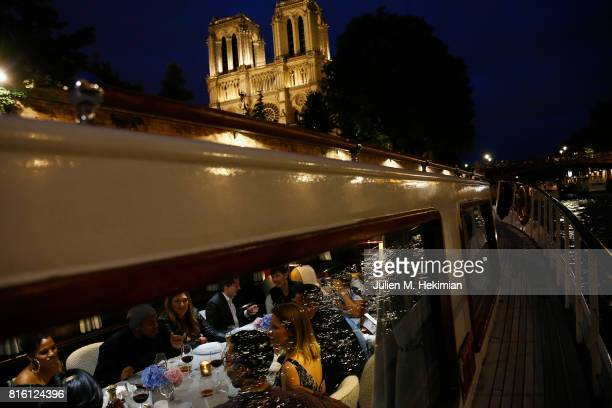 Atmosphere during the Remy Martin XO Dinner with Jackie Cruz on July 15 2017 in Paris France