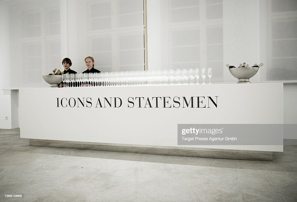 Atmosphere during the Re-Opening of the JFK Museum Berlin on November 24, 2012 in Berlin, Germany.