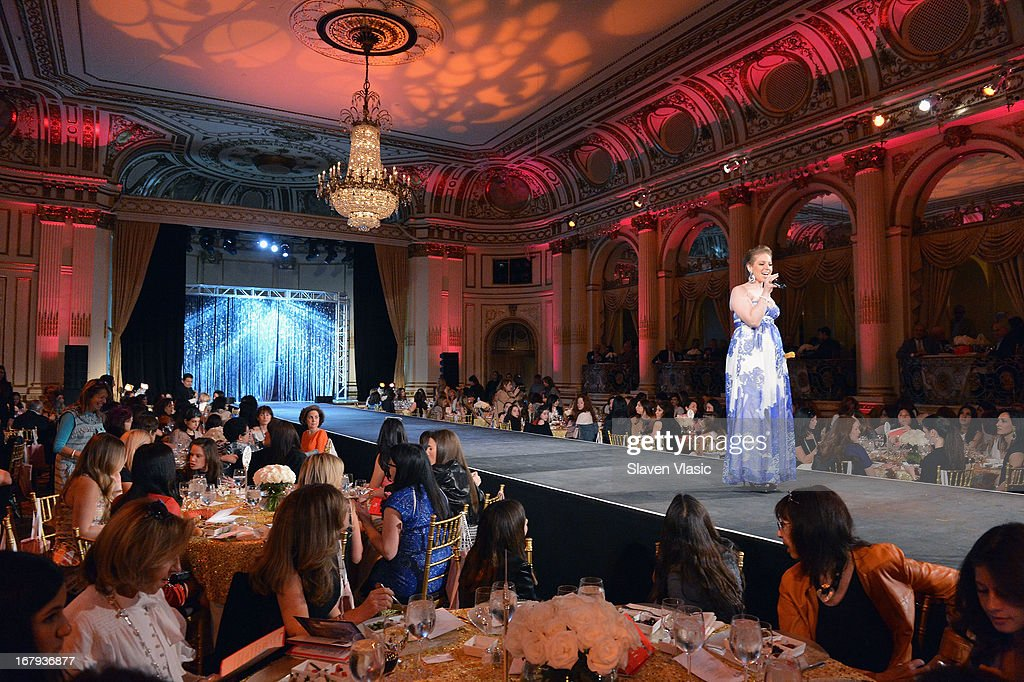 Atmosphere during the Safra Luncheon at The Warren Tricomi Salon At The Plaza Hotel on May 2, 2013 in New York City.