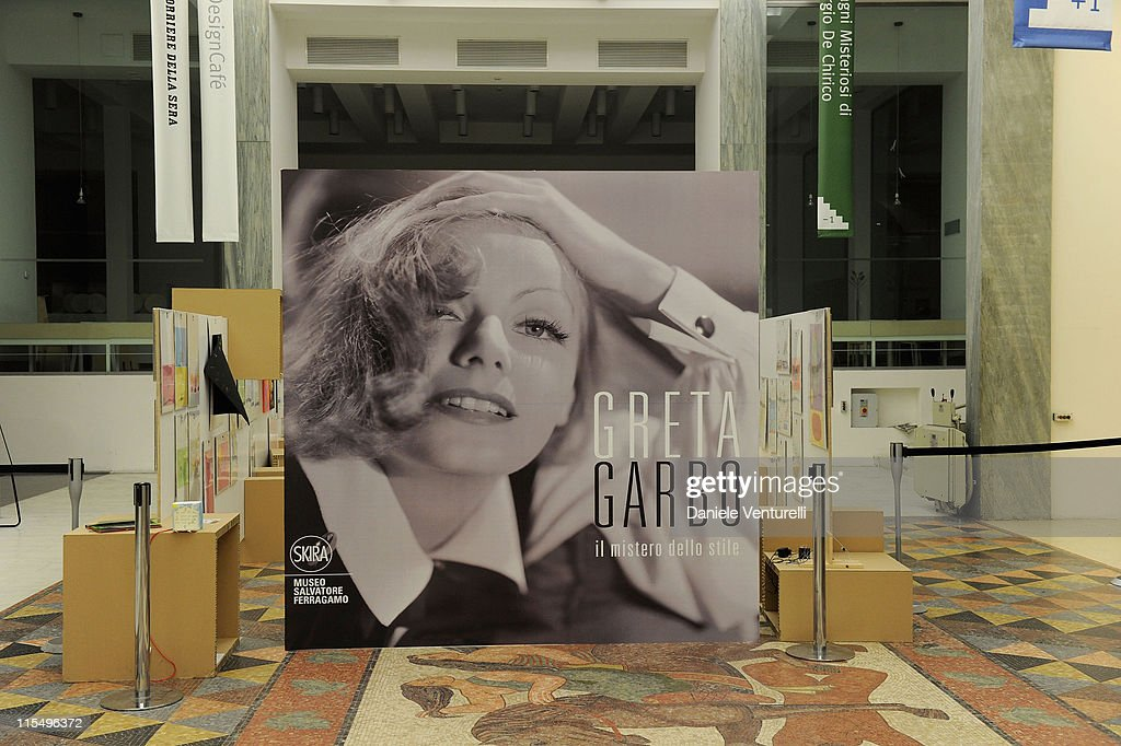 Atmosphere during the Salvatore Ferragamo 'Greta Garbo' exhibition at the Triennale Museum during Milan Fashion Week Womenswear A/W 2010 on February 27, 2010 in Milan, Italy.