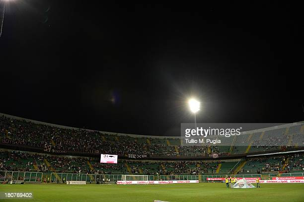 Atmosphere during the Serie B match between US Citta di Palermo and AC Cesena at Stadio Renzo Barbera on September 13 2013 in Palermo Italy
