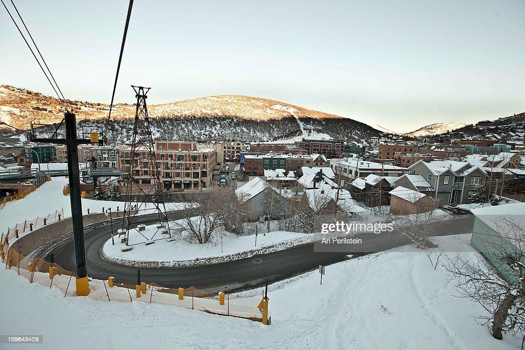 Atmosphere during the Sundance Film Festival on January 17, 2013 in Park City, Utah.