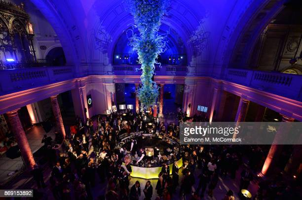 Atmosphere during the Team GB Ball at Victoria and Albert Museum on November 1 2017 in London England