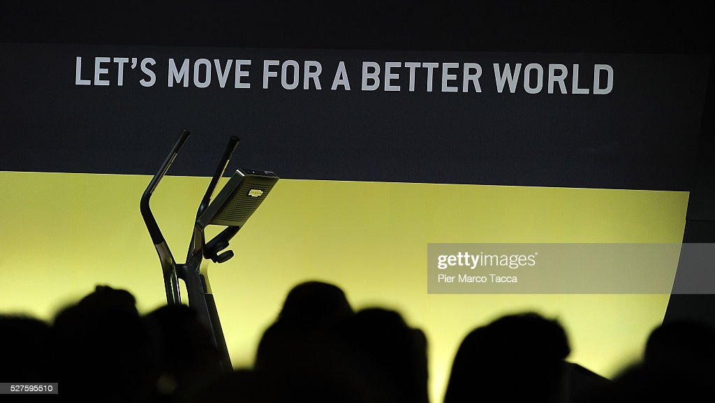 Atmosphere during the Technogym Listing Ceremony at Palazzo Mezzanotte on May 3, 2016 in Milan, Italy. Technogym is the world leader in the construction of equipment for gyms, founded in 1983 by Nerio Alessandri, and was listed today on the Milan Stock Exchange.
