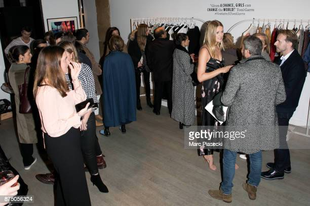 Atmosphere during the 'Vestiaire Collective x Toni Garrn' charity sale to benefit TGarrn Foundation Popup store on November 16 2017 in Paris France
