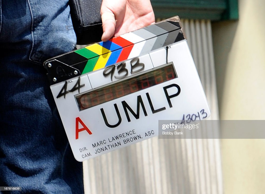 Atmosphere filming on location for 'Untitled Marc Lawrence Project' on April 30, 2013 in the Brooklyn borough of New York City.