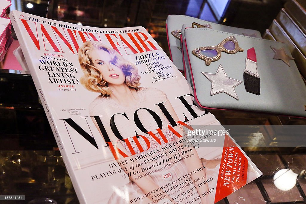 Atmosphere inside the Vanity Fair & Juicy Couture 'Wild For Gifts' Celebration on November 7, 2013 in New York City.