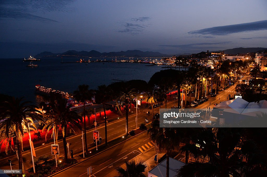Atmosphere La Croisette at the Closing Ceremony during 67th Cannes Film Festival