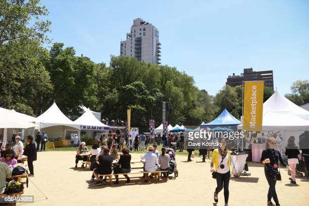 Atmosphere of Harlem EatUp's Third Annual Festival Weekend on May 21 2017 in New York City
