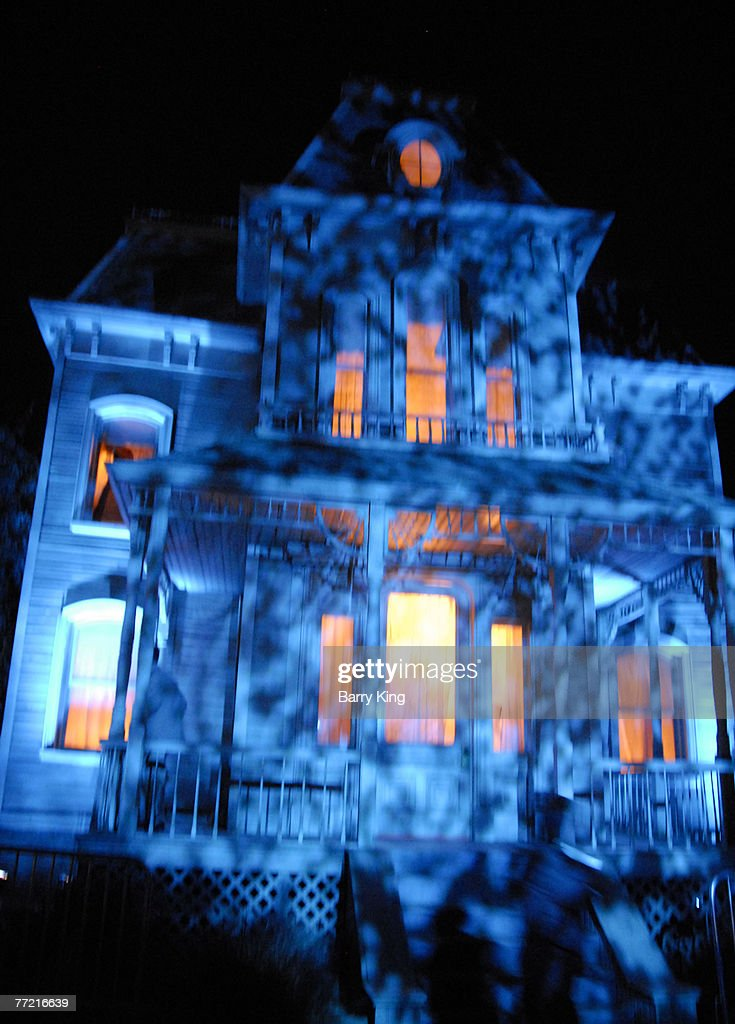 Atmosphere of 'Psycho' House at Universal Studio's Halloween Horror Nights Opening Night held at Universal Studios on October 5 2007 in Universal...