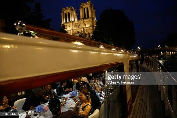 Atmosphere of the Remy Martin XO Dinner with Jackie Cruz on July 15 2017 in Paris France