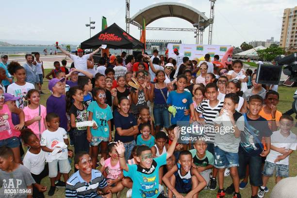 Atmosphere of the Worldwide Day of Play at Bahia Urbana Bay Side Park on August 12 2017 in San Juan Puerto Rico