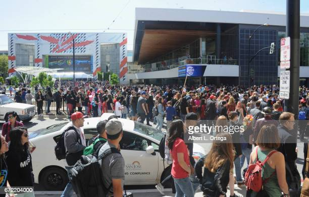 Atmosphere on day 3 of Silicon Valley Comic Con 2017 held at San Jose Convention Center on April 22 2017 in San Jose California
