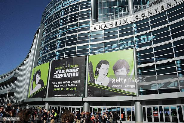 Atmosphere on Day One of Disney's 2015 Star Wars Celebration held at the Anaheim Convention Center on April 16 2015 in Anaheim California