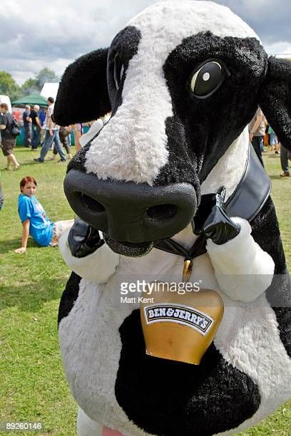 Atmosphere on the first day of Ben Jerry's Sundae on the Common at Clapham Common on July 25 2009 in London England