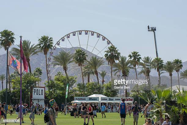 Atmosphere photo at Coachella Festival at The Empire Polo Club on April 10 2015 in Indio United States
