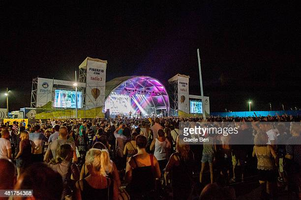 Atmosphere photo at FIB Benicassim Festival on July 19 2015 in Benicassim Spain