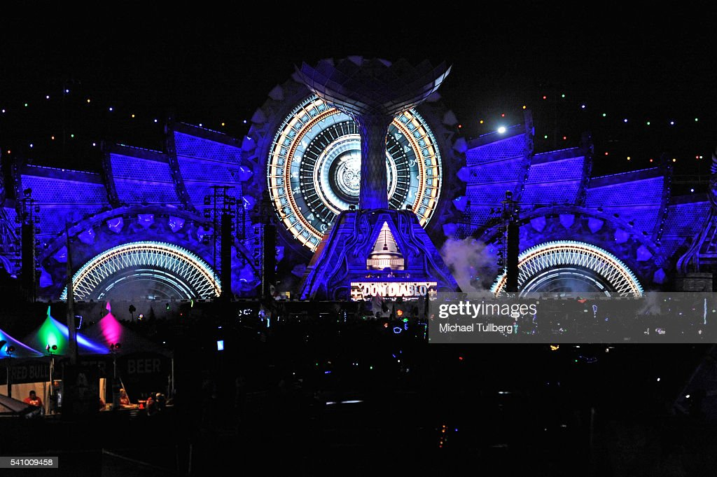 20th annual electric daisy carnival day 1 getty images for Las vegas motor speedway edc