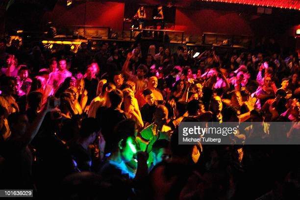 Atmosphere shot of the crowd at the 'Concert For The Amazon' rain forest benefit held at the Avalon nightclub on June 4 2010 in Hollywood California