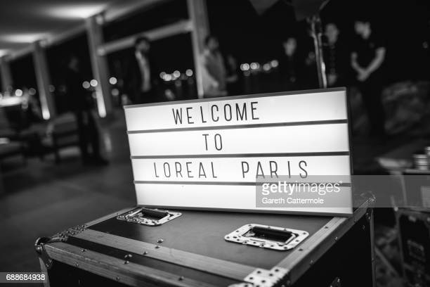 Atmosphere suring the L'Oreal Paris Cinema Club party during the 70th Cannes Film Festival at Martinez Hotel on May 24 2017 in Cannes France