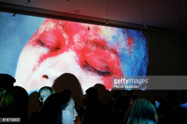 Atmosphere XXXX Video Art Instillation attends The YOUNG PATRONS CIRCLE of AMERICAN FRIENDS Hosts SOIREE AU LOUVRE at Payne Whitney Mansion on June 3...