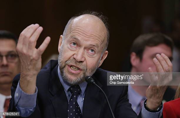Atmospheric physicist and Columbia University Earth Institute adjunct professor James Hansen testifies before the Senate Foreign Relations Committee...