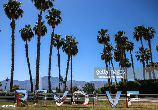 Atmpsohere at the REVOLVE Desert House during Coachella on April 15 2017 in Palm Springs California on April 15 2017 in Palm Springs California