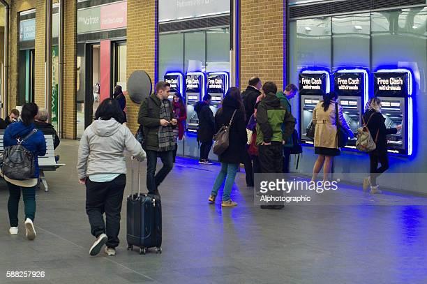 ATMs at Kings Cross rail station