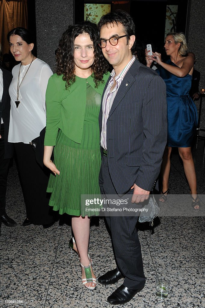 <a gi-track='captionPersonalityLinkClicked' href=/galleries/search?phrase=Atom+Egoyan&family=editorial&specificpeople=215428 ng-click='$event.stopPropagation()'>Atom Egoyan</a> and <a gi-track='captionPersonalityLinkClicked' href=/galleries/search?phrase=Arsinee+Khanjian&family=editorial&specificpeople=2252153 ng-click='$event.stopPropagation()'>Arsinee Khanjian</a> attend 'Luminato' Toronto Opening Night at Brookfield Place on June 14, 2013 in Toronto, Canada.