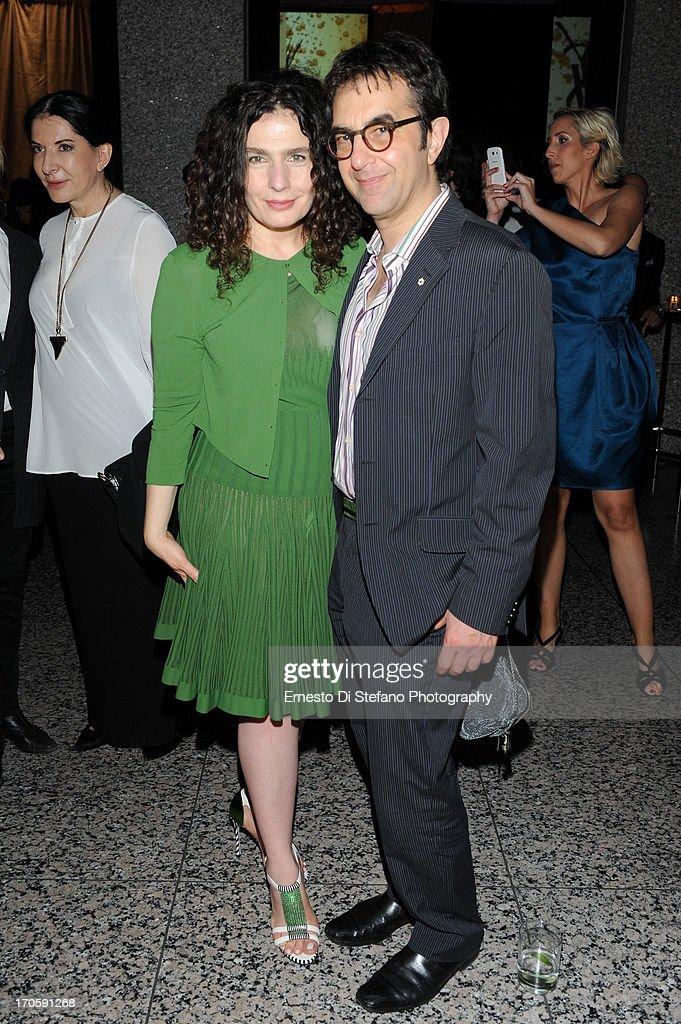 Atom Egoyan and Arsinee Khanjian attend 'Luminato' Toronto Opening Night at Brookfield Place on June 14, 2013 in Toronto, Canada.