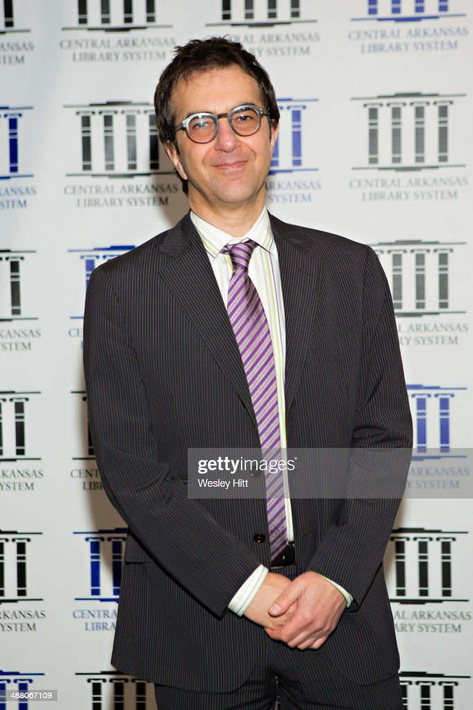 <a gi-track='captionPersonalityLinkClicked' href=/galleries/search?phrase=Atom+Egoyan&family=editorial&specificpeople=215428 ng-click='$event.stopPropagation()'>Atom Egoyan</a> attends the 'Devil's Knot' premiere at the CALS Ron Robinson Theater on May 03, 2014 in Little Rock, Arkansas.