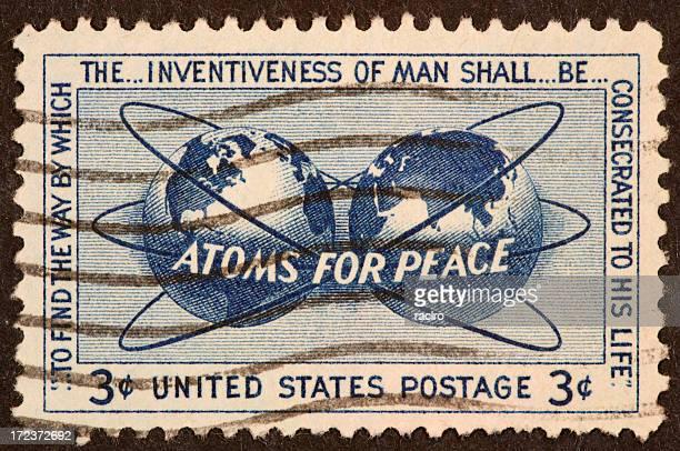L'energia atomica stamp