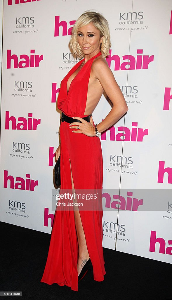 Atomic kitten singer Jenny Frost attends the Hair Magazine Awards 2009 held at Il Bottaccio on September 29, 2009 in London, England.