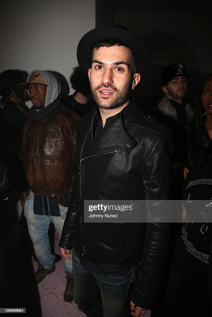 Trak attends A$AP Rocky's 'LOVE.LIVE.A$AP' Album Release Party at The Hole on January 15, 2013 in New York City.