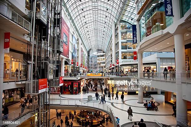 Atrium in Pearson Centre shopping mall.