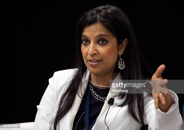Atsi Sheth vice president and senior analyst of sovereign risk at Moody's Investors Service speaks during the Asian Development Bank's annual meeting...