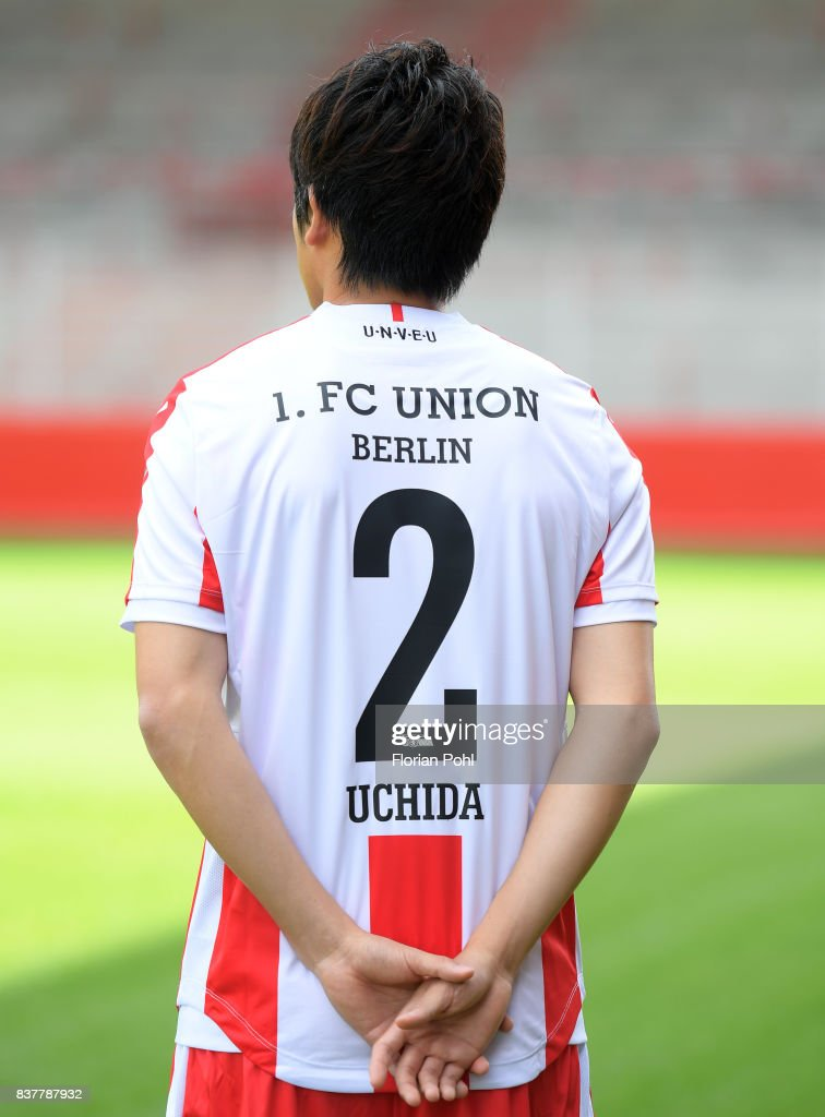 Atsuto Uchida of 1.FC Union Berlin during the presentation on august 23, 2017 in Berlin, Germany.