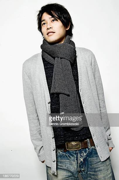 Atsuto Uchida of FC Schalke 04 poses during a portrait session at Veltins Arena on December 12 2011 in Gelsenkirchen Germany