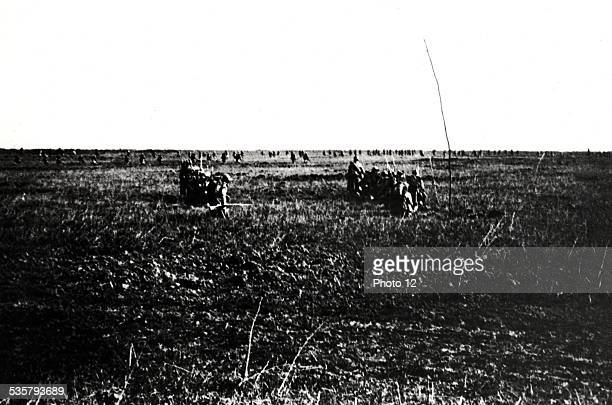 Attack near the 'Chemin des Dames' in Verdun on May 5 France World War I Second Battle of the Aisne