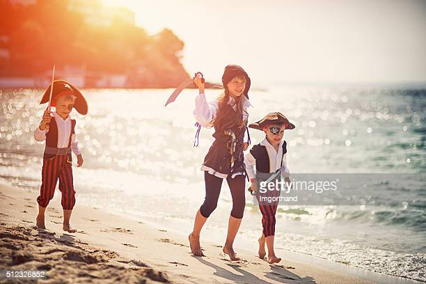 Attack of the fearsome little pirates