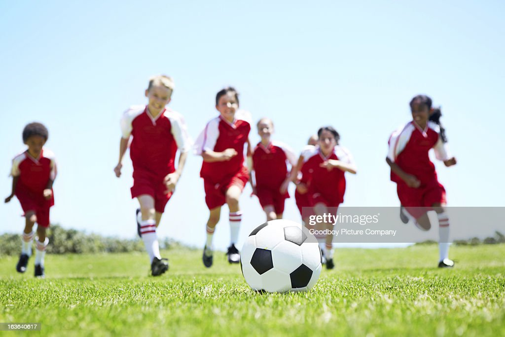 Attacking as a team : Stock Photo