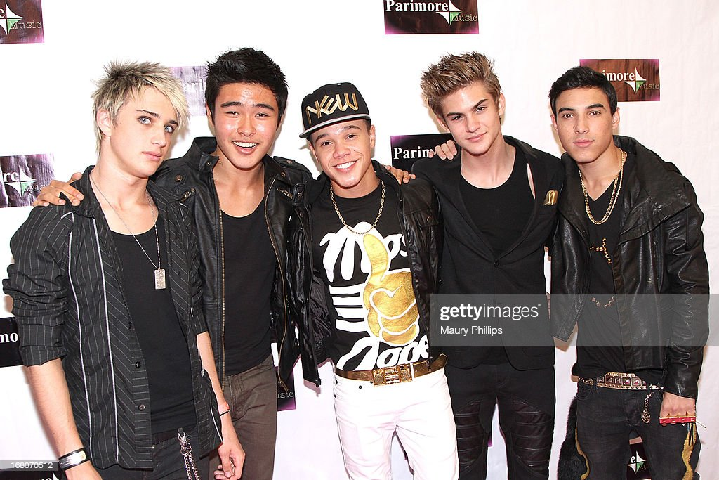 IM5 attend Katia Nicole's Rave Music Video release party on May 4, 2013 in Los Angeles, California.