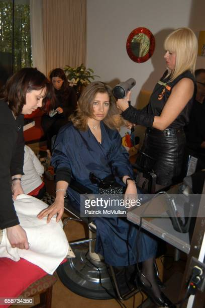 attend the Boudoir Oscar Suite Sponsored by Mario Badescu Vidal Sassoon and Creative Mail Design at the Chateau Marmont on February 27 2004 in West...